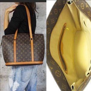 Laptop✅Louis Vuitton zipper business tote